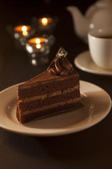 Free Stock Photo of Chocolate cake