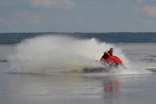 Free Stock Photo of Jet ski