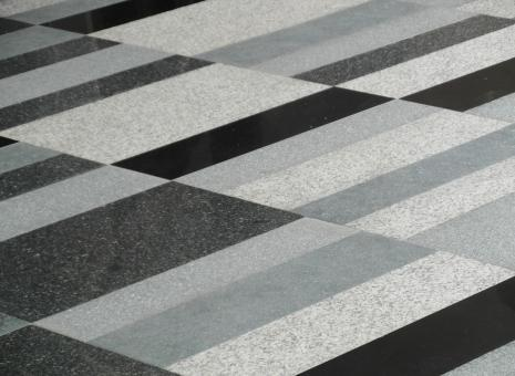 Free Stock Photo of Black and White Marble Pattern