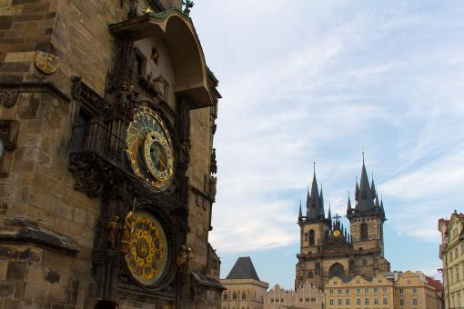 Free Stock Photo of Astronomical Clock