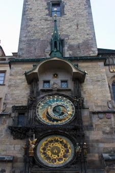 Free Stock Photo of Prague Astronomical Clock