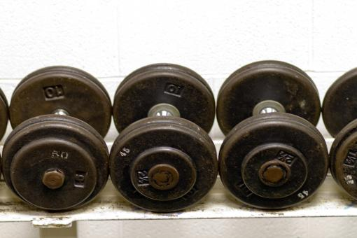 Free Stock Photo of Dumbbells