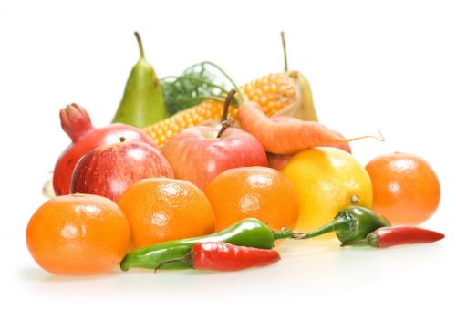 Free Stock Photo of Fresh vegetables and fruits