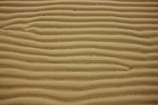 Free Stock Photo of Ripples in the Sand