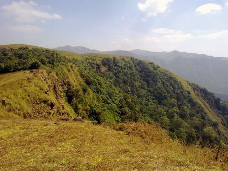 Free Stock Photo of Suicide Point, Vagamon