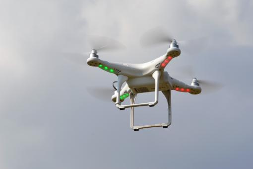 Free Stock Photo of Quadrocopter