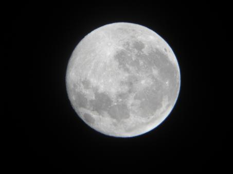 Free Stock Photo of Full Moon