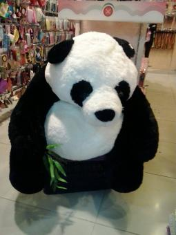 Free Stock Photo of Big Panda Stuffed Animal