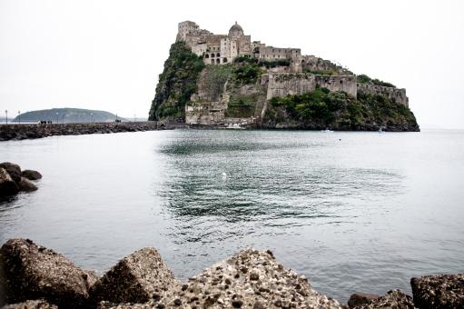 Free Stock Photo of Medieval Aragonese Castle, Ischia