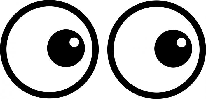 Free Stock Photo of Cartoon Eyes