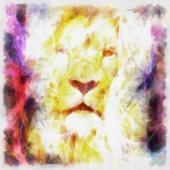 Free Stock Photo of Lion Art