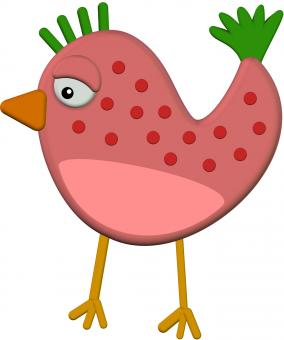 Free Stock Photo of Cartoon Chicken