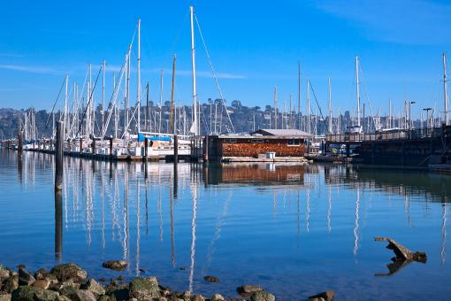 Free Stock Photo of Sausalito Waterfront - HDR