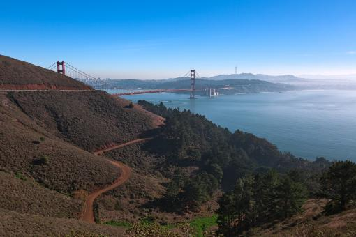 Free Stock Photo of San Francisco & Golden Gate - HDR