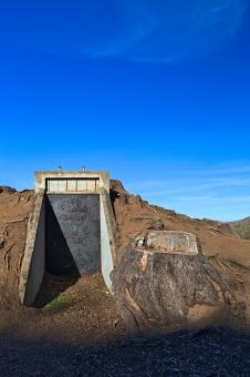 Free Stock Photo of California War Bunker - HDR