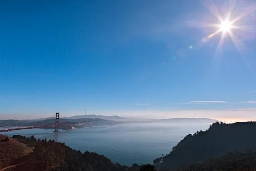Free Stock Photo of Sunny San Francisco Bay - HDR