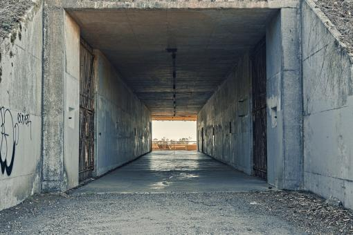 Free Stock Photo of California War Tunnel - HDaRmageddon