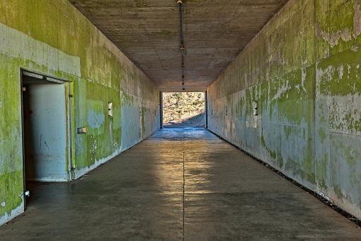 Free Stock Photo of California War Tunnel - HDR