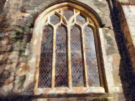 Free Stock Photo of Church Window