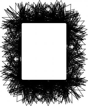 Free Stock Photo of Scribble Frame