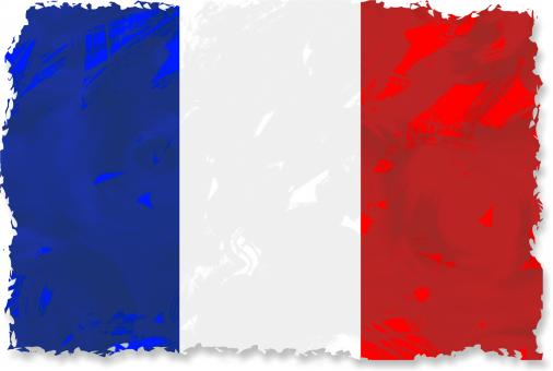 Free Stock Photo of Grunge French Flag