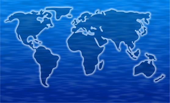 Free Stock Photo of World Map Clipart