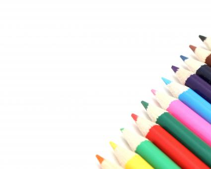 Free Stock Photo of Close-up of colored pencils