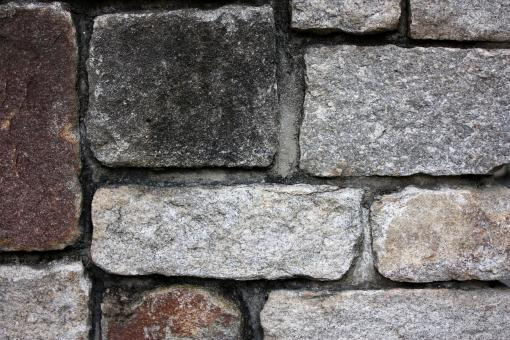 Free Stock Photo of Close-up of a stone wall