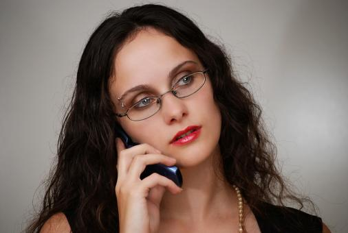 Free Stock Photo of Business woman talking on a phone