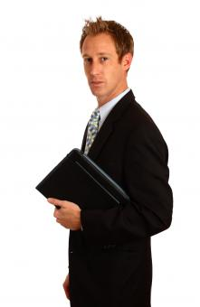 Free Stock Photo of A young businessman