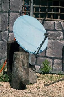 Free Stock Photo of Satellite Dish