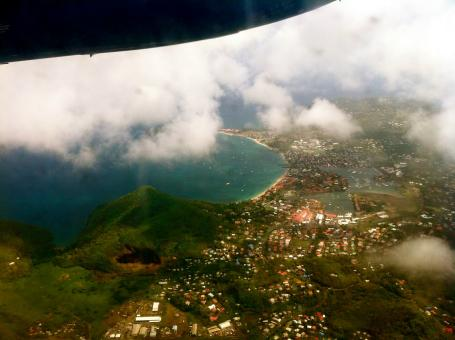 Free Stock Photo of Saint Lucia from the Sky