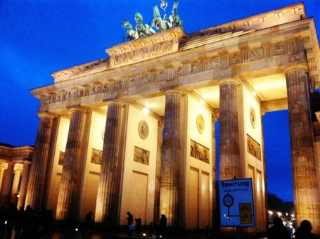 Free Stock Photo of Brandenburg Gate