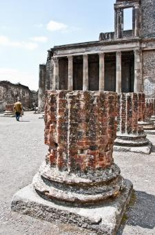 Free Stock Photo of Ancient Roman city of Pompeii