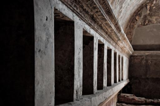 Free Stock Photo of Remains of the public baths in Pompeii,