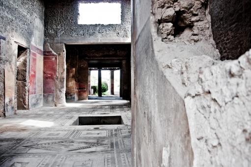 Free Stock Photo of ruin ancient Roman city of Pompeii