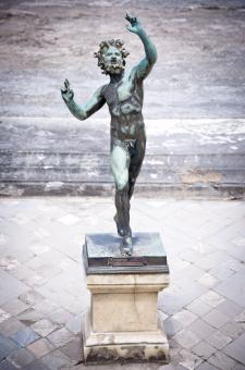 Free Stock Photo of Dancing Faun statue, House of the Faun,