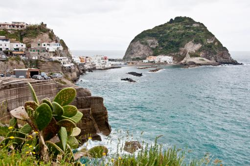 Free Stock Photo of Bay of Sant Angelo, Ischia, Italy