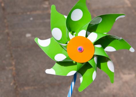 Free Stock Photo of Colorful pinwheel