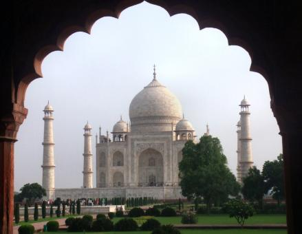 Free Stock Photo of Taj Mahal