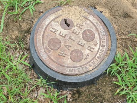 Free Stock Photo of Water meter