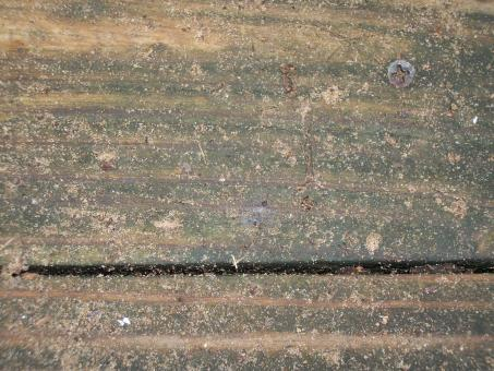Free Stock Photo of Weathered bench planks