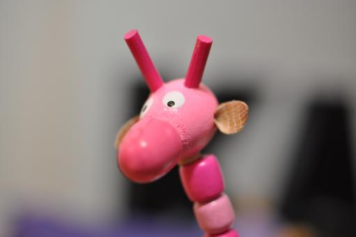 Free Stock Photo of Pink Giraffe