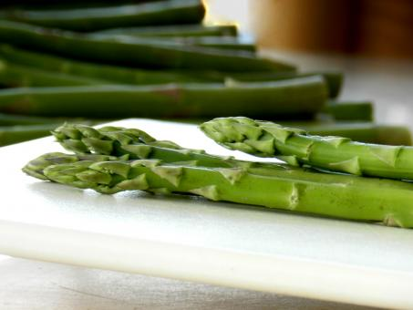 Free Stock Photo of Fresh Asparagus