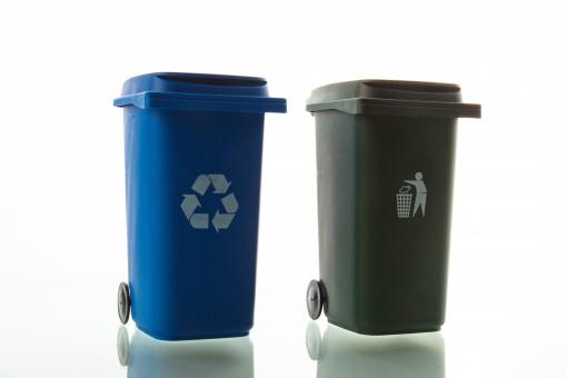 Free Stock Photo of Waste Bins
