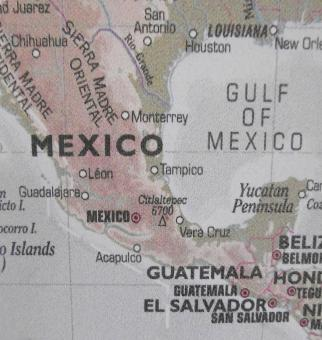 Free Stock Photo of Map of Mexico