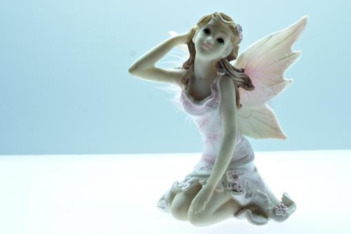 Free Stock Photo of Angel figurine
