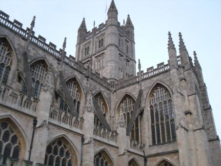 Free Stock Photo of Bath Abbey