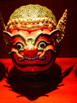 Free Stock Photo of Oriental Puppet Mask