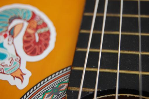 Free Stock Photo of Bendin' Strings